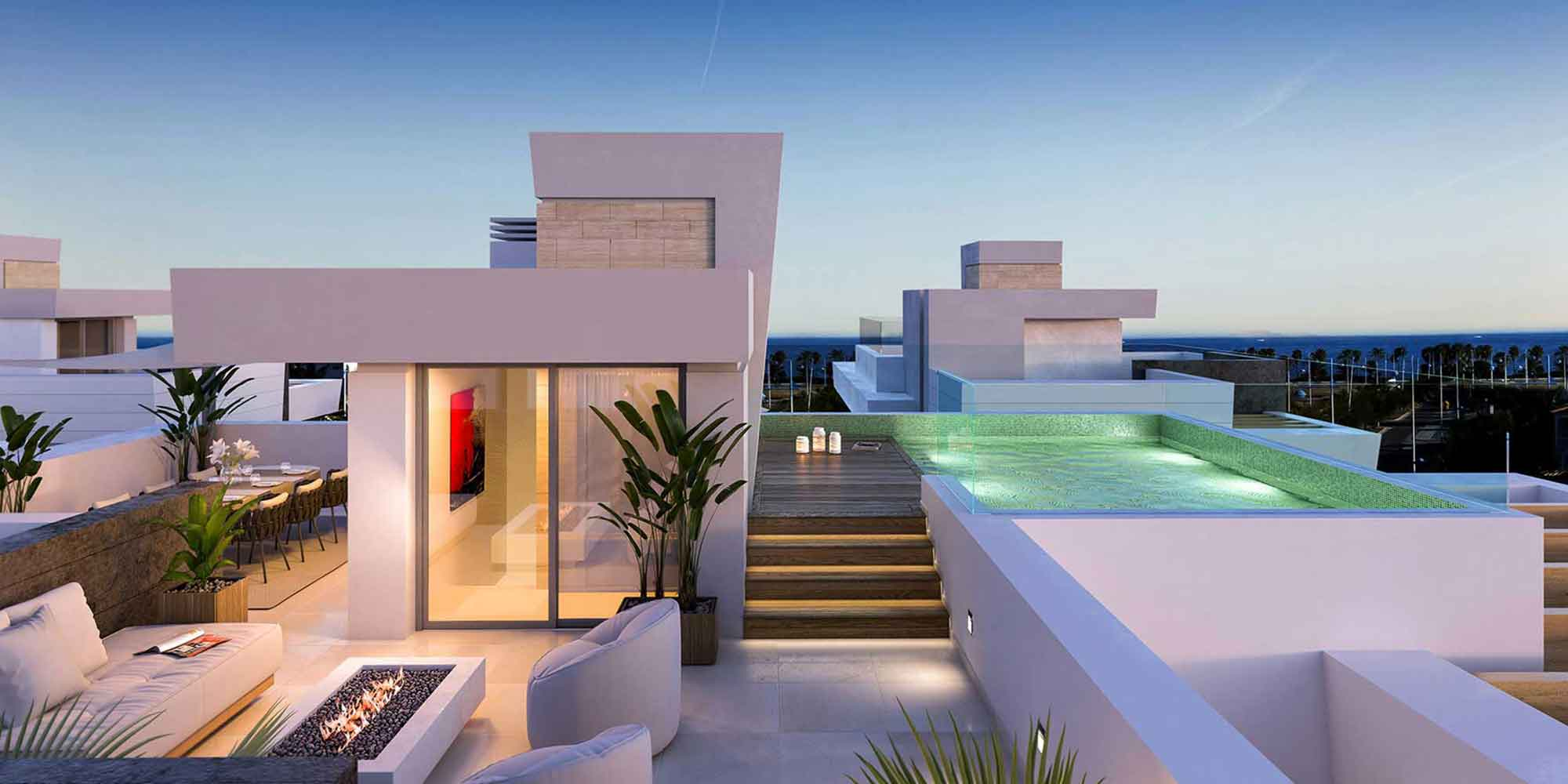 Off-Plan Contemporary Style Villas On The Beachside From San Pedro