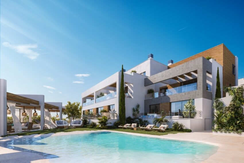 New Development Apartments for Sale in Los Monteros Alto