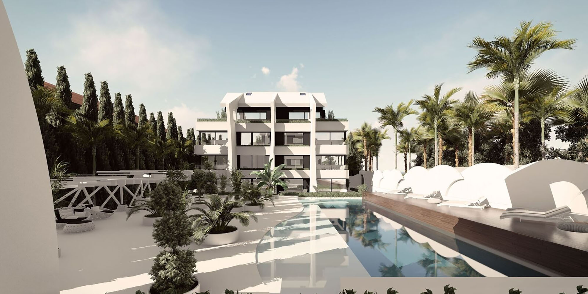 Beachside New Development In Marbella
